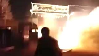 حمله به پاسگاه پلیس در قهدریجان