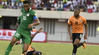 Mikel Obi for World Cup qualifiers against Zambia for Uyo