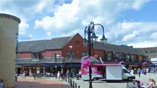 Henblas Square, Wrexham