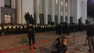 Поліція біля Ради
