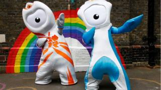 Mascots of the 2012 Olympic and Paralympic Games