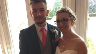 Rebecca Veli with her brother Ben