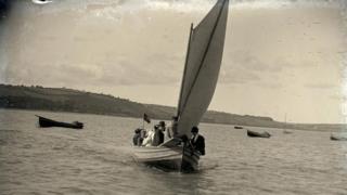 Croesi aber y Tywi yn 1905