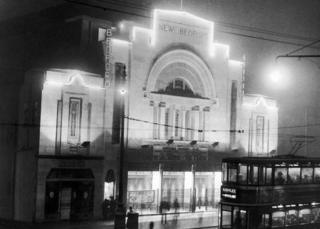 The New Bedford Picture House, in Eglinton Street, opened in 1932.