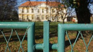 The former asylum at Cepin