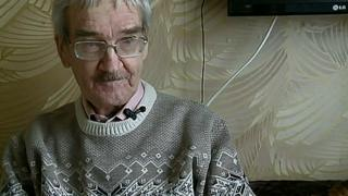 Stanislav Petrov talks to BBC Russian in 2013