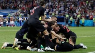 फुटबॉल विश्व कप, रूस, क्रोएशिया