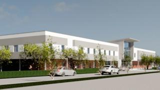 Artist's impression of the new orthopaedic centre