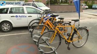 Some of PZ Spoorkal's rental bikes