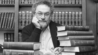 Adrian Cronauer, pictured in a 1988 black and white photograph
