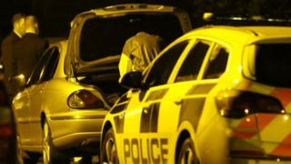 The body of a man was found in the Limehurst Way area of Lisburn on Monday