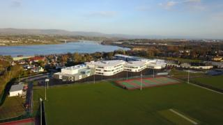 A drones eye view of the new college