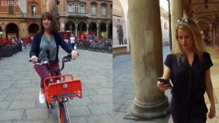 Người dân Bologna, Italy có thể tích điểm đổi quà từ quãng đừng đi bộ hay đạp xe
