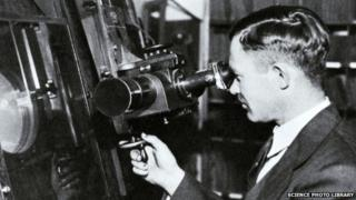 US astronomer Clyde Tombaugh
