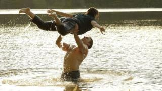 Colt Prattes and Abigail Breslin in Dirty Dancing