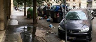 Сміття на вулицях Риму