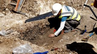 200 year old skeletons found at Brighton Dome Corn Exchange