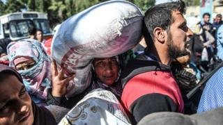 Suriyeli göçmen