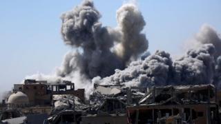 Бои в Ракке