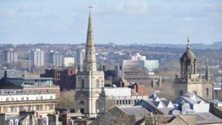 Bristol skyline