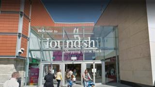 Houndshill shopping centre