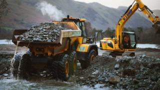 Dredging of Glenridding Beck