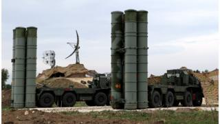 Russian S-400 air defence system in Syria