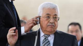 Rais wa Palestina Mohamud Abbas