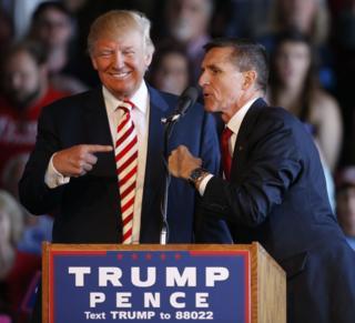 Donald Trump ve Michael Flynn