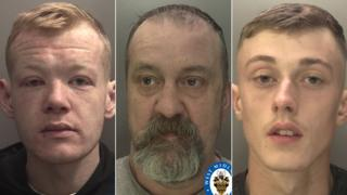 (L-R) Bevan Burke, Anthony Evans, Thomas Wilson