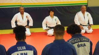Yuko Fujii durante una sesión