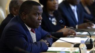 Harry Kalaba, le ministre des affaires étrangères de Zambie a rendu sa démission.