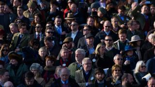 Cheltenham Festival crowd