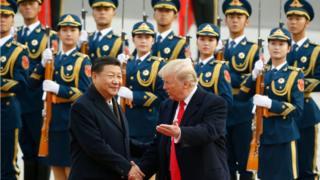 Trung Quốc, Hoa Kỳ