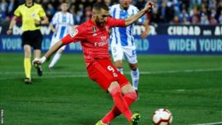Karim Benzema ubu amaze gutsinda ibitego byose bitanu Real Madrid iheruka gutsinda muri La Liga