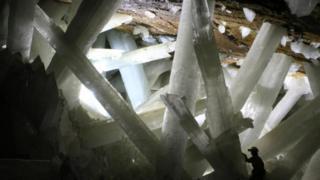 Печера кристалів у шахті Найка