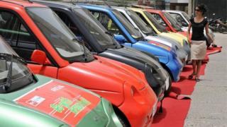 انڈیا، برقی گاڑی