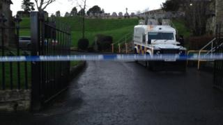 The alert is close to the City Cemetery in Derry