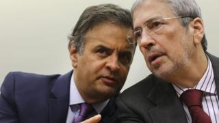 Aécio Neves e Antônio Imbassahy