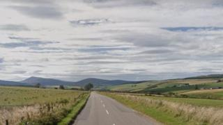 The A920 between Huntly and Dufftown