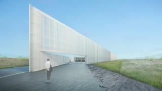 Artist's impression of archive
