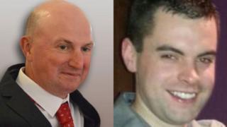 Gerard Gillies, left, and Craig Reid