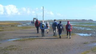 Path to Lindisfarne