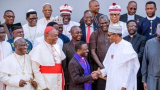 Onyeisiala Buhari na ndị ụkọchukwu ụka Kraịst