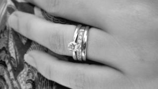Diamond ring, stock image