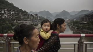 Çinli kadın