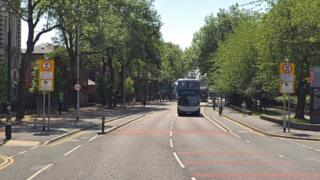Oxford Road restricted traffic zone