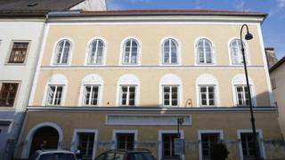 The house in which Adolf Hitler was born in the northern Austrian city of Braunau am Inn, 24 September, 2012.