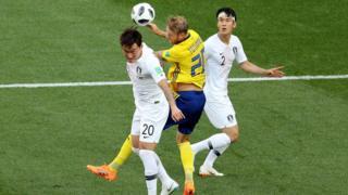 Güney Kore İsveç maçı