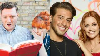 Jamie Morton and Alice Levine, Kem Cetinay and Arielle Free